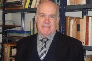 José Luis Moure, presidente de la Academia Argentina de Letras.